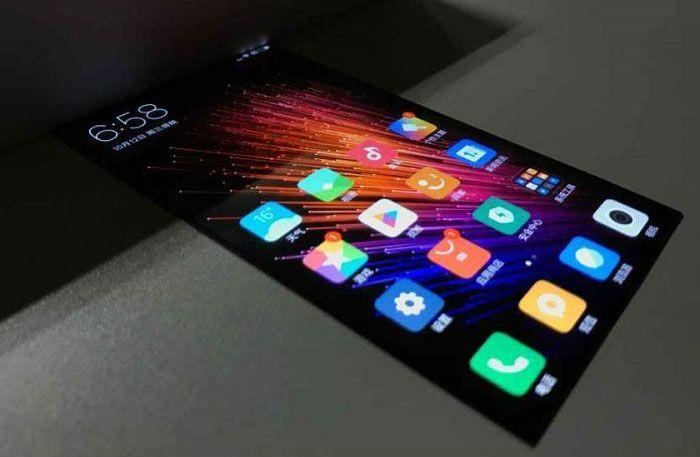 Xiaomi con MIUI 8 y pantalla flexible