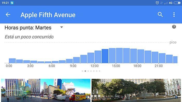 Google te informa en directo de las colas en las tiendas