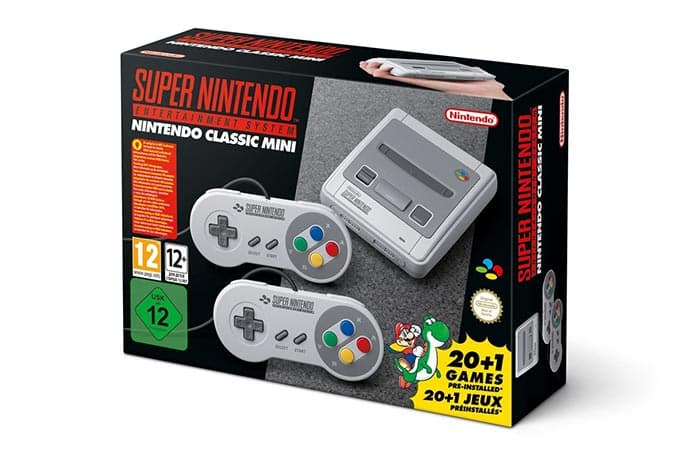 imagen SNES Classic Edition de Nintendo