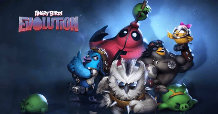 imagen Angry Birds Evolution