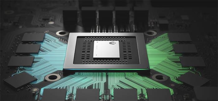 Características técnicas de la Xbox One X