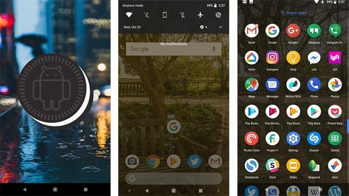 imagen Android 8.1 Oreo