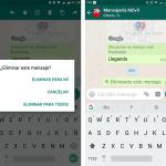 WhatsApp para Android se actualiza con Eliminar Mensajes para todos y más