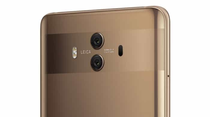 imagen cámara Huawei Mate 10 Pro