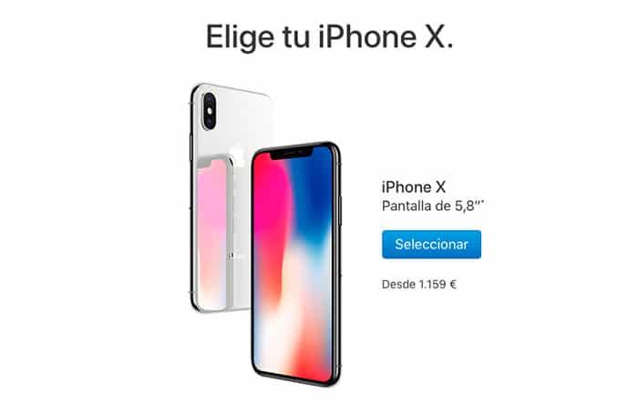 imagen reservar iphone x