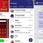 Cambia el color de WhatsApp en los smartphones Xiaomi