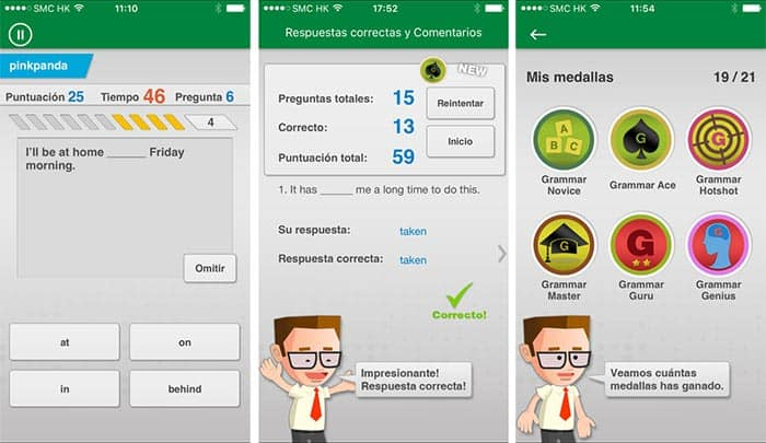 imagen aplicaciones Android para aprender ingles