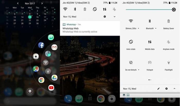 foto HTC U11 con Android 8.0 Oreo