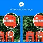 Facebook Messenger: añade soporte para compartir imágenes en 4K