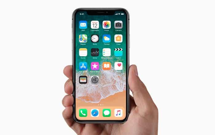 imagen gestos iphone X