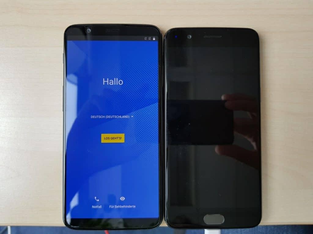 foto OnePlus 5T