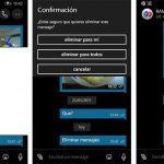 WhatsApp para Windows 10 Mobile ya puede eliminar mensajes, entre otras novedades