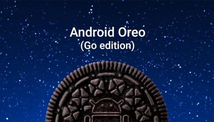imagen Android Oreo (Go Edition)