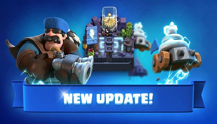 imagen actualización de Clash Royale