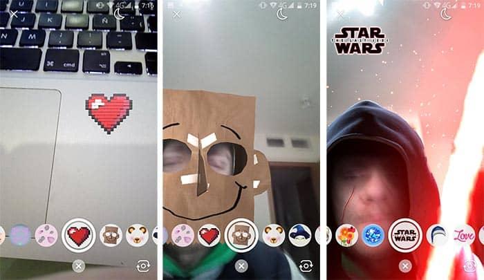 imagen Messenger con los World Effects