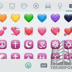 WhatsApp y el significado del color de los diferentes corazones