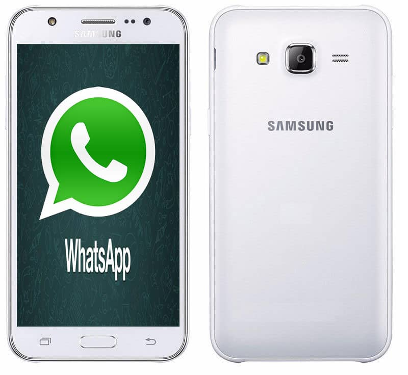 imagen descargar WhatsApp para Samsung Galaxy J5