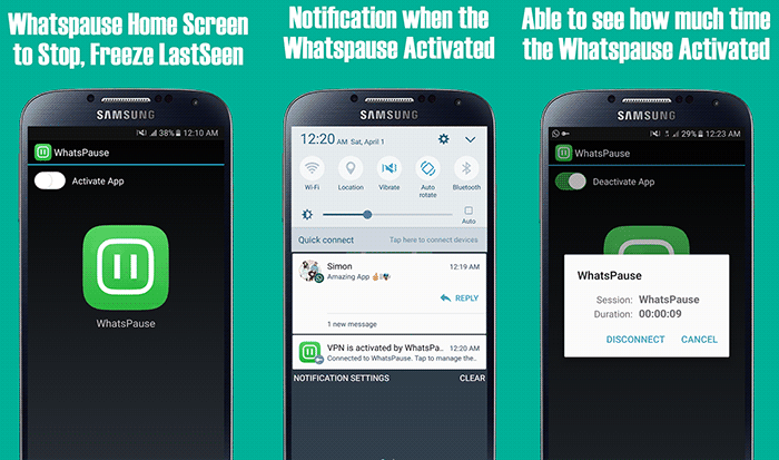 imagen Whatspause to Whatsapp para Android