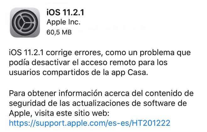 imagen iOS 11.2.1