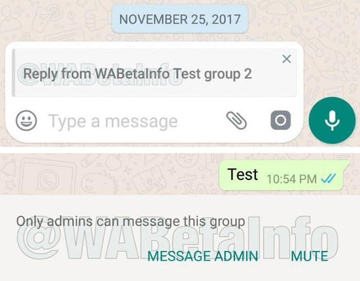 imagen WhatsApp para Android