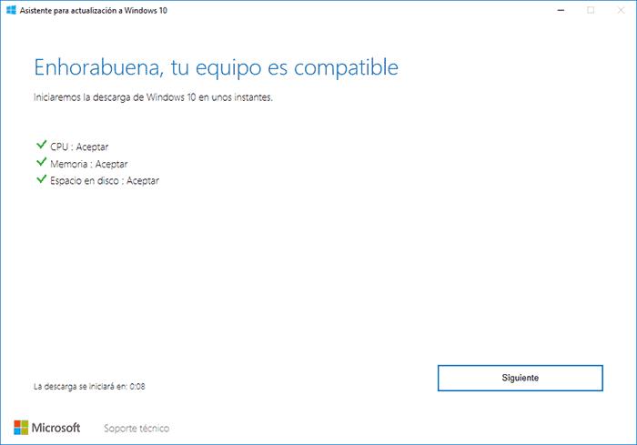 imagen windows 10 actualizar