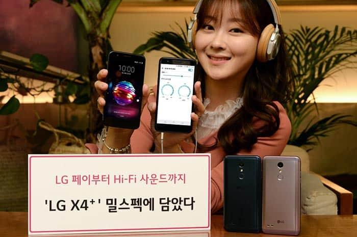 imagen LG X4+