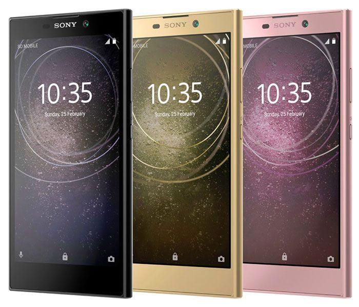 imagen Sony Xperia L2 Colores