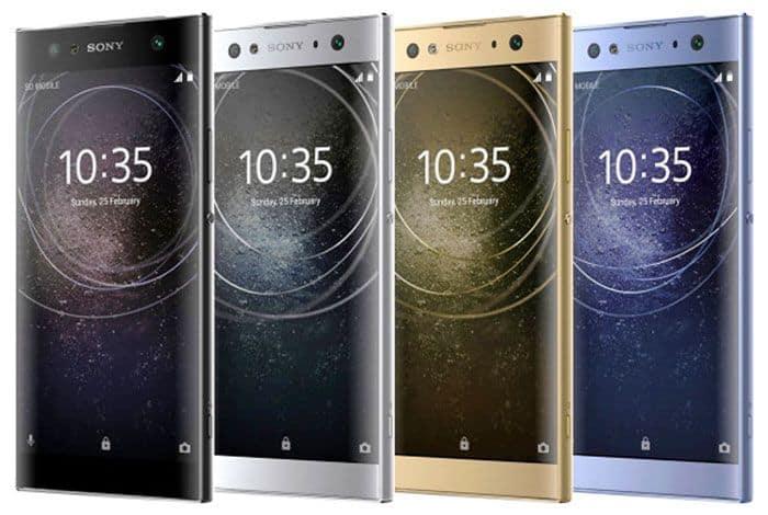 imagen Sony Xperia XA2 Ultra Colores