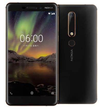 imagen Nokia 6 2018