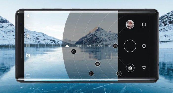 imagen camara Nokia 8 Sirocco