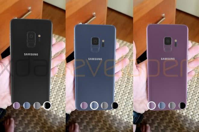 imagen Samsung Galaxy S9 de realidad aumentada