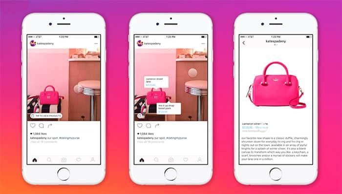 imagen Instagram Shopping