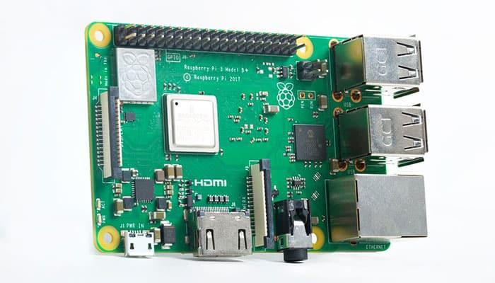 imagen Raspberry Pi 3 Modelo B+