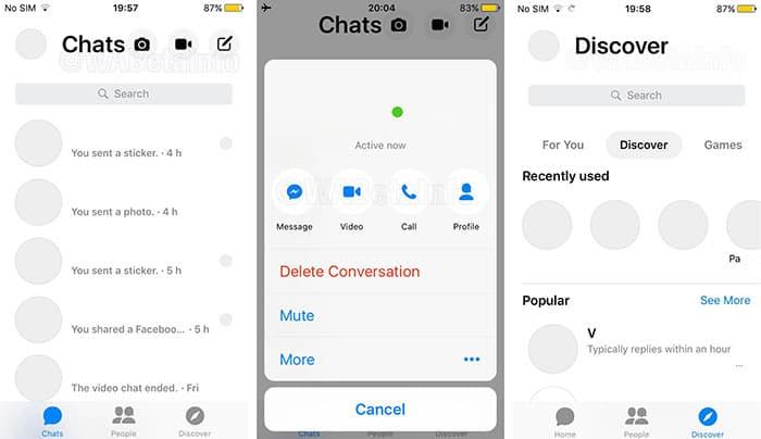 imagen Snapchat ahora será imagen de Facebook Messenger