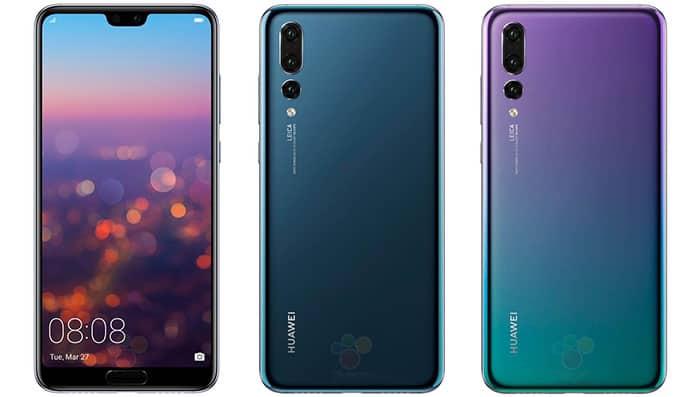 imagen colores Huawei P20 PRO