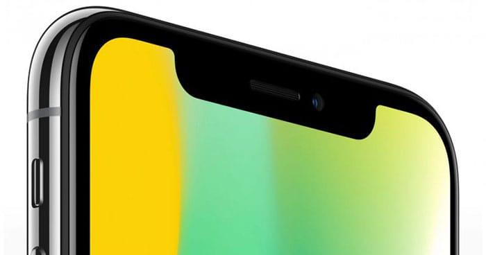 imagen iPhone X notch
