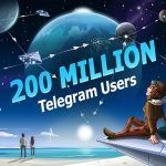 Telegram alcanza los 200 millones de usuarios mensuales activos