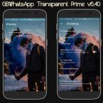 GBWhatsApp Transparent Prime actualizada a la versión 6.40