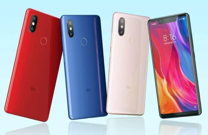Xiaomi Mi 8 SE Colores