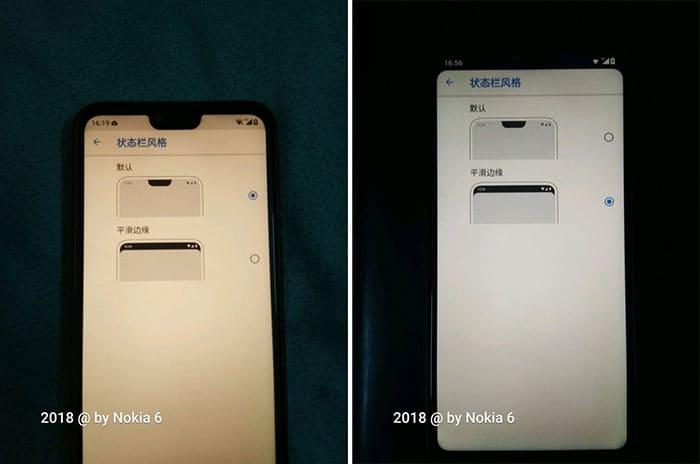 Nokia X6 Ocultar el notch