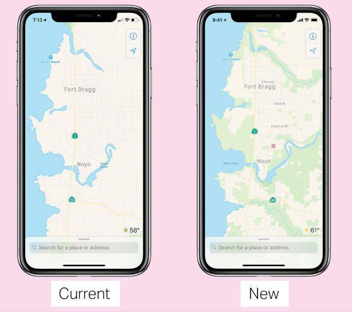 nuevo maps de apple