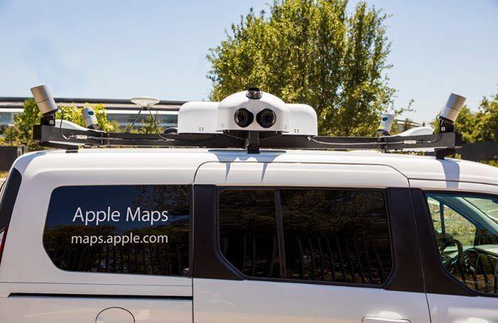 vehiculo maps de apple