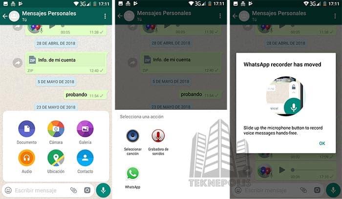 WhatsApp para Android Beta v2.18.171