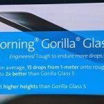 Corning Gorilla Glass 6 es presentado: Vidrio aún más resistente