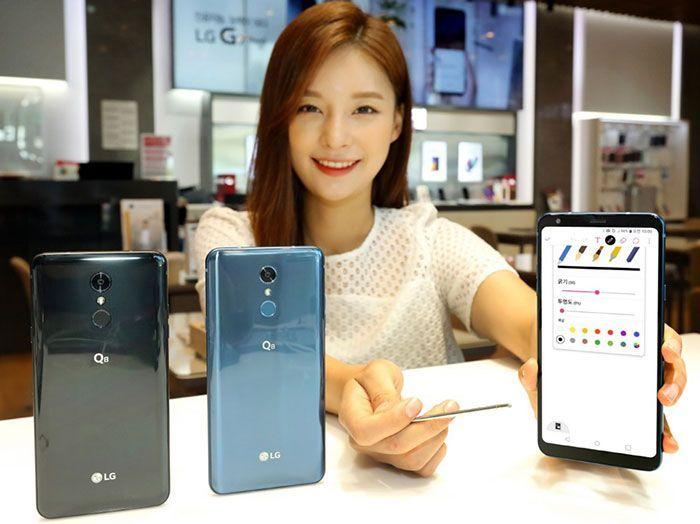 LG Q8 colores