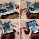 Samsung Galaxy F: la pantalla plegable tendrá una diagonal de 7,3 pulgadas