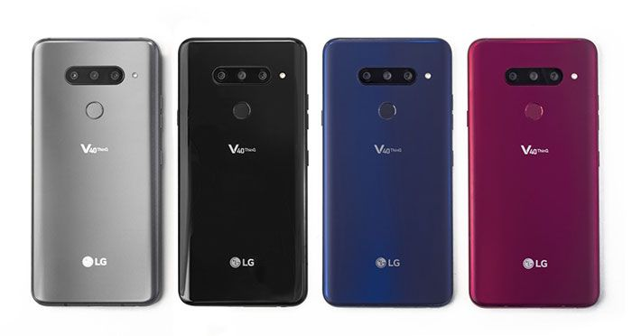 LG V40 ThinQ Colores imagen