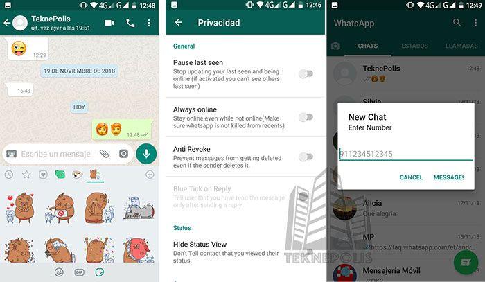 imagen Novedades WhatsApp B58 Mini 14.1