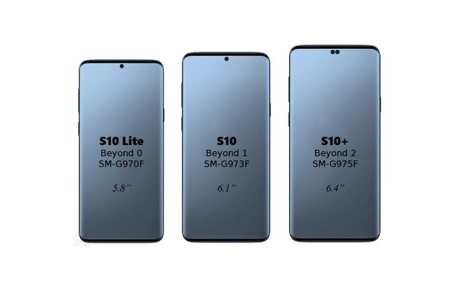 imagen variantes Samsung Galaxy S10
