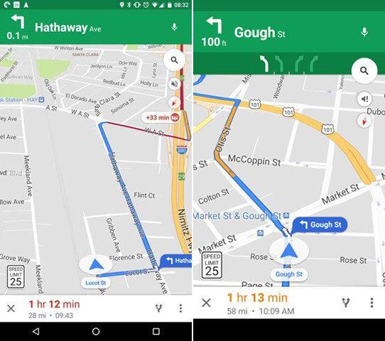 Google Maps Limites Velocidad